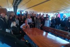 publiczność zaczyna się gromadzić na pokładzie STS KAPITAN BORCHARDT