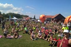 publiczność stanowili biegacze, amatorzy nord walking, mieszkańcy gminy i powiatu Police, a także turyści z regionu