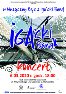 #IgackiBand #muzyka #muzykażeglarska #Szczecin #koncert #AkademiaMorska