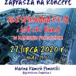 koncert zespołu IGA'cki Band w Marinie Kamień Pomorski